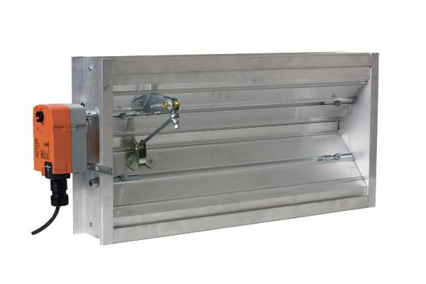 Miami tech inc motorized opposed blade volume damper for Zone damper motor repair